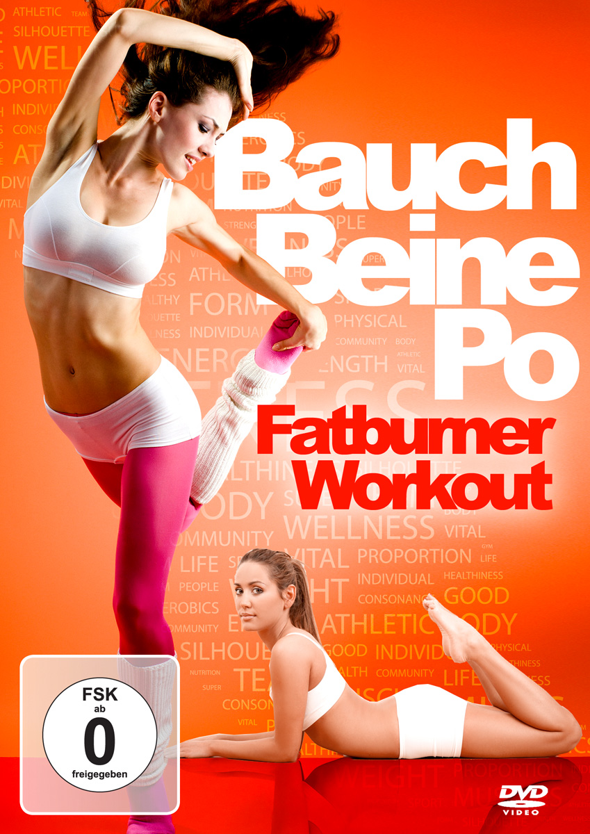 dvd bauch beine po das fatburner workout auf dvd das erfolgsprogramm promi getes 90204725212 ebay. Black Bedroom Furniture Sets. Home Design Ideas
